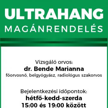 Ultrahang magánrendelés